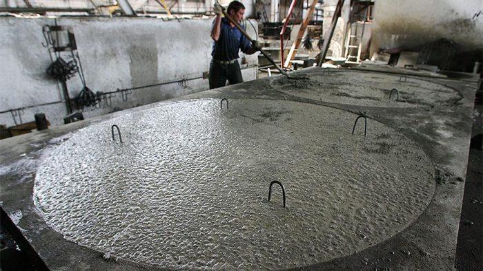 бетон электричество